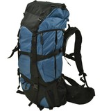 R-Way Backpack Rugtas Blauw 75 Liter  76X36X27