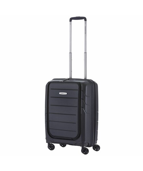 CarryOn Mobile Worker Harde Handbagagekoffer Zwart Met Voorvak