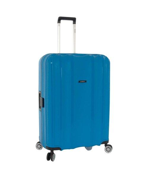 Enrico Benetti Durham Tsa Koffer Groot Blauw 96 Liter