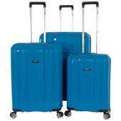 ENRICO BENETTI DURHAM TSA KOFFERSET SKY BLUE 96, 61 EN 34L