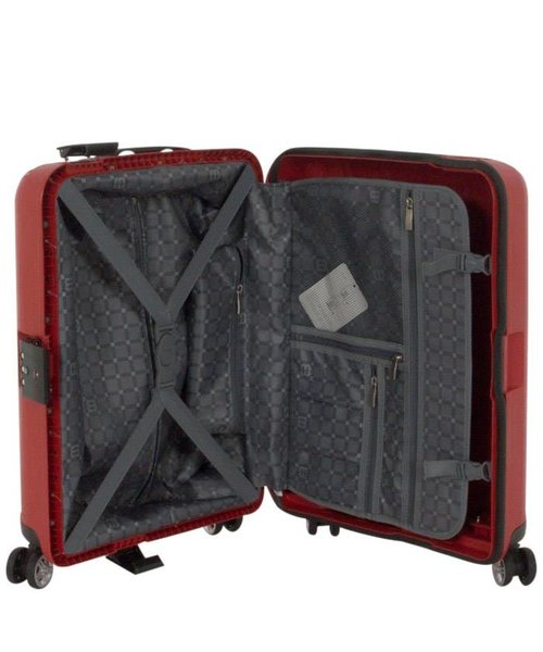 Enrico Benetti Durham Koffer Handbagage Rood 34L 55X40X20cm