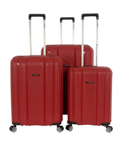 Enrico Benetti Durham Tsa 3-Delige Kofferset Rood