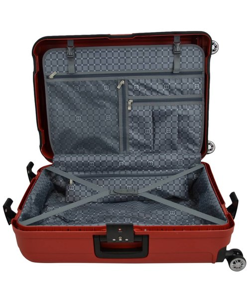 Enrico Benetti Durham Tsa Koffer Groot Rood 96L 76X53X31cm