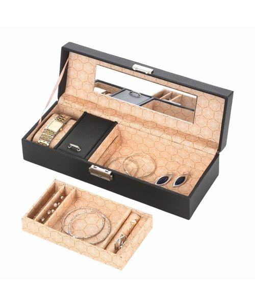 Treasury Luxe Bijouteriedoos Compact Zwart