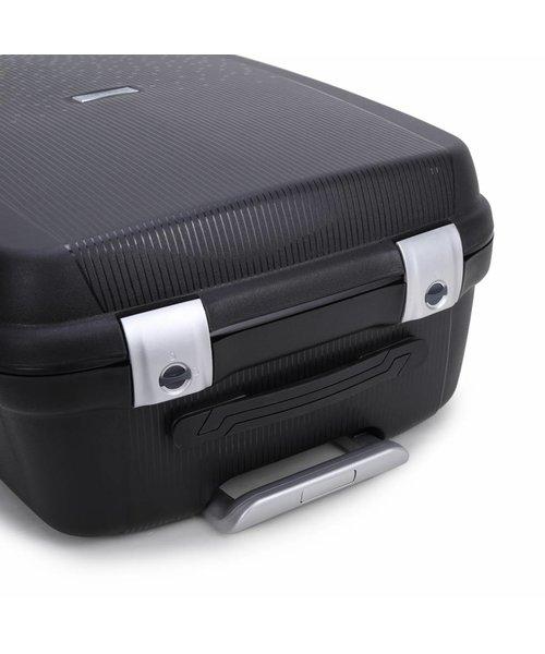 Decent Sportivo One Kofferset Zwart Inhoud 96, 65 en 35 Liter