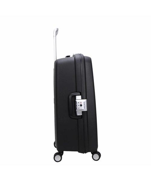 Decent Sportivo One Koffer Groot Zwart Inhoud 96 Liter 78x54.5x32 cm