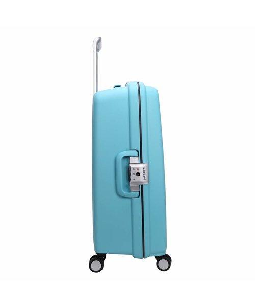 Decent Sportivo One Koffer Groot Lichtblauw Inhoud 96 Liter 78x54.5x32 cm
