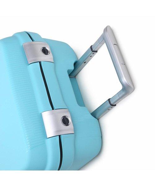 Decent Sportivo One Handbagage Koffer Lichtblauw Inhoud 35 Liter 57x35x22 cm