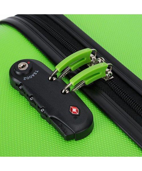 Decent Neon Fix Kofferset Groen Inhoud 96, 67 en 32 Liter