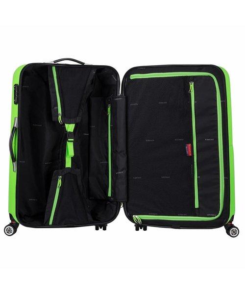 Decent Neon Fix Koffer Groot Groen Inhoud 96 Liter 74x48x29cm