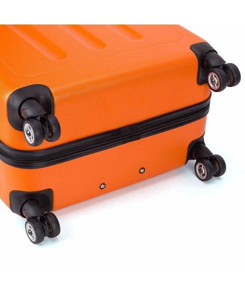 Decent Neon Fix Handbagage Koffer Oranje Inhoud 32 Liter 54x35x20cm