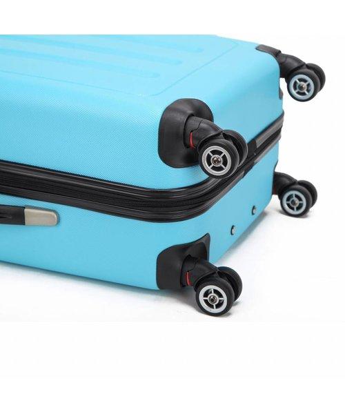 Decent Neon Fix Koffer Groot Blauw Inhoud 96 Liter 74x48x29cm