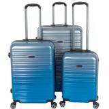 Enrico Benetti Reiskoffers Miami Blauw Kofferset 3-Delig 90, 60 en 35L