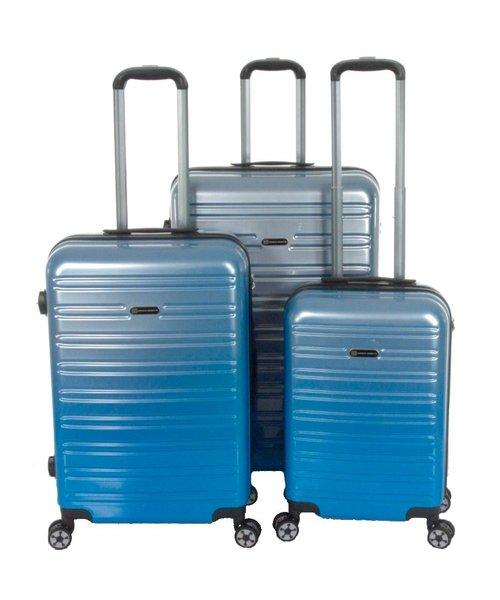 Enrico Benetti Miami Kofferset 3-Delig 90L, 60L en 35L Blauw
