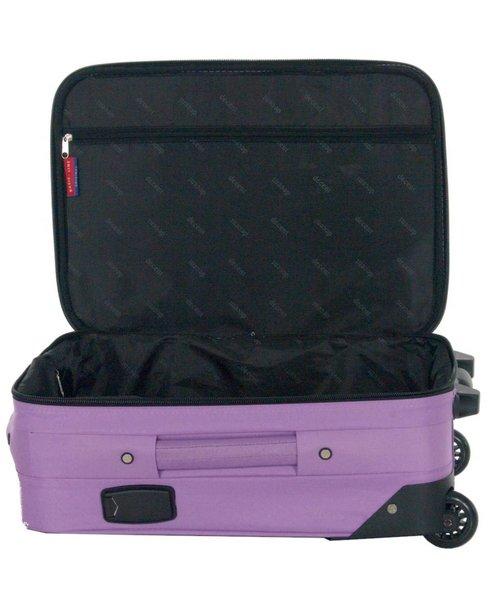 Decent Basic Line Handbagage Koffer Paars 37L 53x36x20 cm