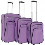 Decent Basic Line Kofferset Paars Inhoud 78, 60 en 37 Liter