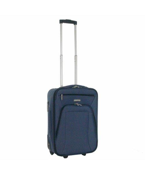 Decent Basic Line Kofferset Donkerblauw Inhoud 78, 60 en 37 Liter