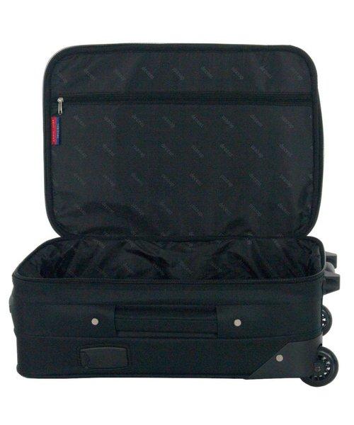Decent Basic Line Handbagage Koffer Zwart 37L 53x36x20 cm