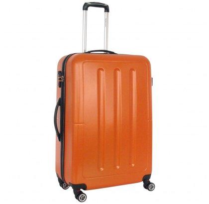 Decent Neon Fix Koffer Groot Oranje Inhoud 96 Liter 74x48x29cm
