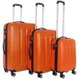 Decent Neon Fix Kofferset Oranje Inhoud 96, 65 en 32 Liter
