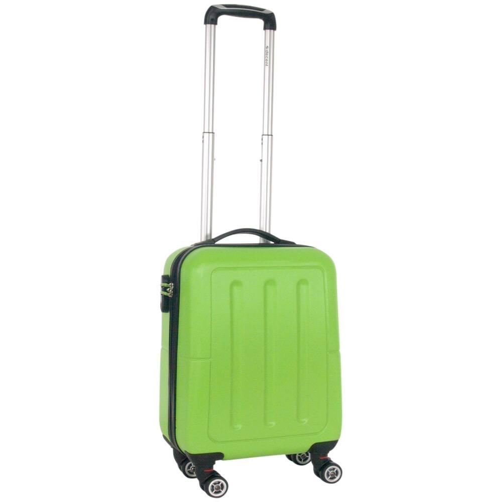 efad0d8818a Decent Neon Fix Handbagage Koffer Groen Inhoud 32 Liter 54x35x20cm .