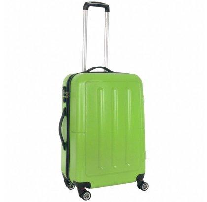 Decent Neon Fix Koffer Medium Groen Inhoud 65 Liter 57x39x22cm