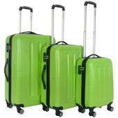 Decent Neon Fix Kofferset Groen Inhoud 96, 65 en 32 Liter