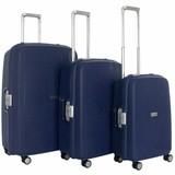 Decent Sportivo One Kofferset Donkerblauw Inhoud 96, 65 en 35 Liter