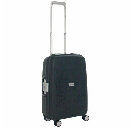 Decent Sportivo One Handbagage Koffer Zwart Inhoud 35 Liter 57x35x22 cm