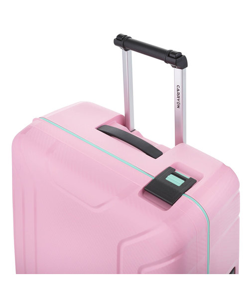 CarryOn Steward Spinner 75cm Roze Groot Tsa 100 Liter