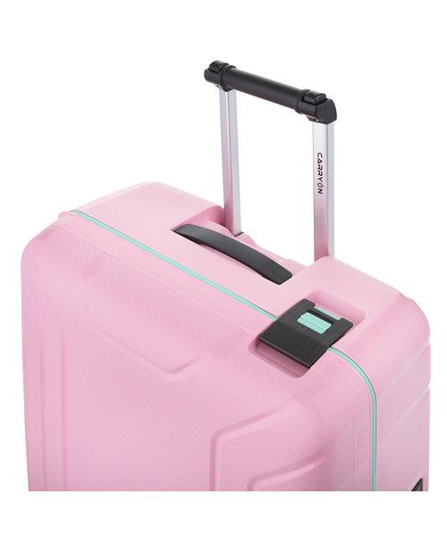 CarryOn Steward Spinner 65cm Roze Medium Tsa 70 Liter