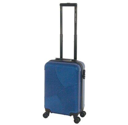 Enrico Benetti Abs Handbagagekoffer Blauw 30L 54X34X20cm