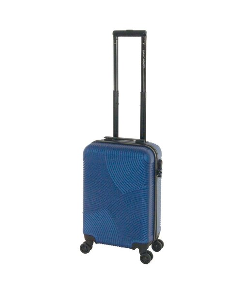 Enrico Benetti Abs Handbagage koffer 55X35X20 Blauw 30L