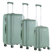 CarryOn Skyhopper Kofferset Olive Inhoud 85, 57 en 32 Liter