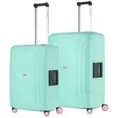 CarryOn Steward Kofferset Tsa Mint Groen 100 en 70 Liter