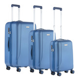CarryOn Skyhopper Kofferset Cool Blue Inhoud 85, 57 En 32 Liter