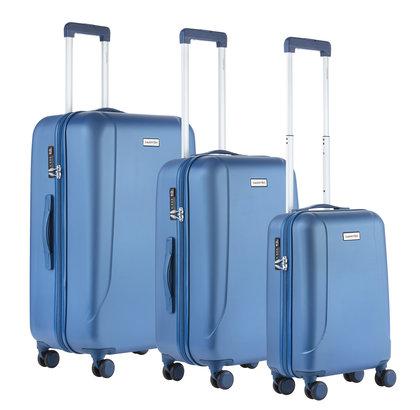 CarryOn Skyhopper Kofferset Set 3 Koffers Blauw