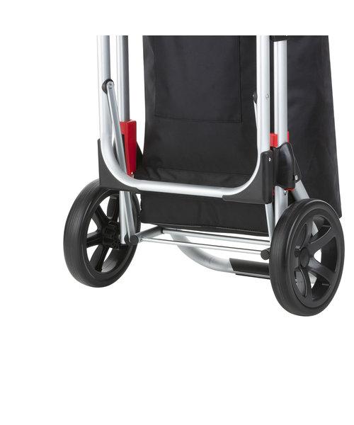 Shop Cruiser Stevige Boodschappen Trolley Met Zitje Zwart