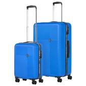 CarryOn Connect Kofferset Blauw Inhoud 90 en 28 Liter