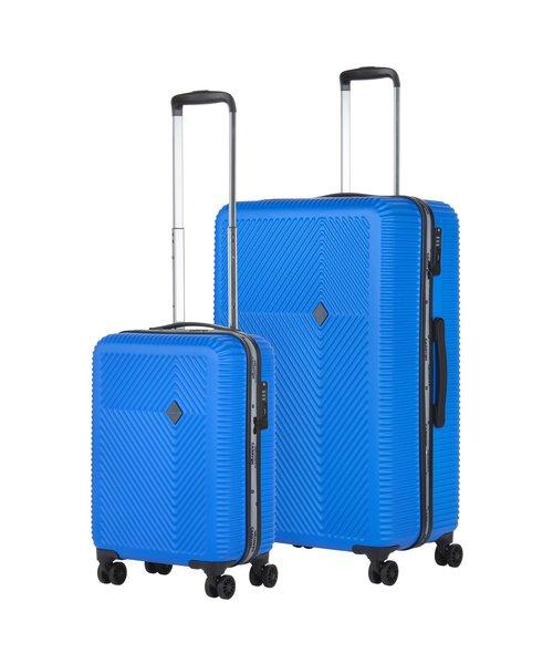 CarryOn Connect Kofferset Blauw Set 2 Koffers 90 en 28 Liter