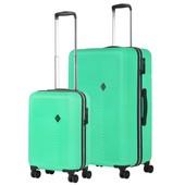 CarryOn Connect Kofferset Groen Inhoud 90 en 28 Liter