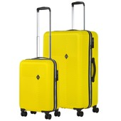 CarryOn Connect Kofferset Geel Inhoud 90 en 28 Liter