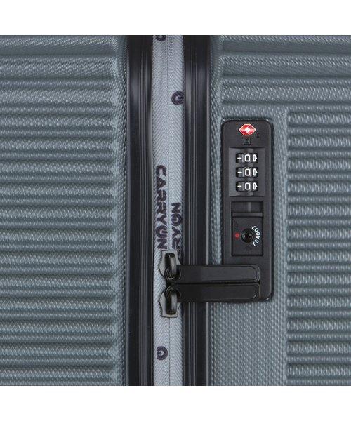 CarryOn Connect Koffer 77 Groot Grijs 90 Liter 77x46x30cm met Okoban