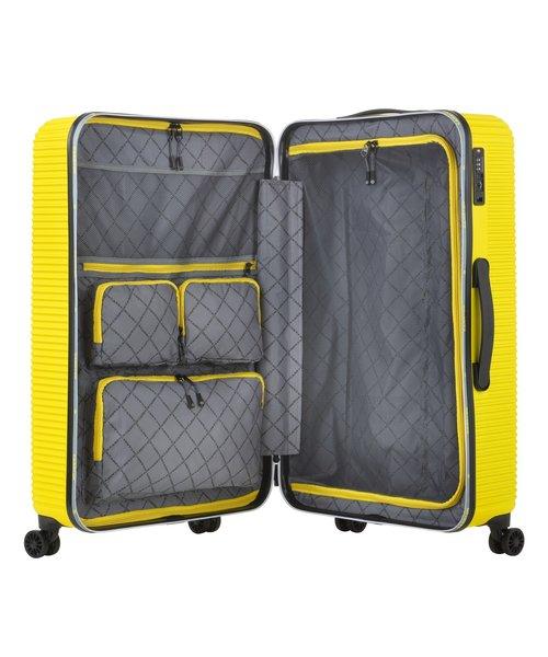 CarryOn Connect Koffer 77 Groot Geel 90 Liter 77x46x30cm met Okoban