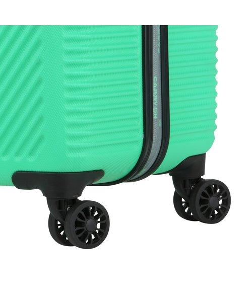 CarryOn Connect Handbagagekoffer met USB Groen 28L 53x34x20cm