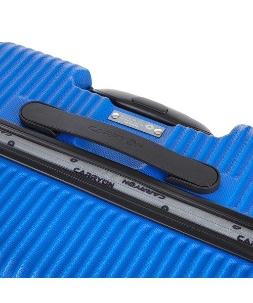 CarryOn Connect Koffer 77 Groot Blauw 90 Liter 77x46x30cm met Okoban