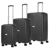 CarryOn Transport Kofferset Zwart Inhoud 95, 70 en 32 Liter