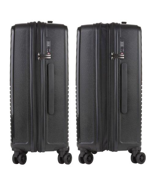 CarryOn Transport Koffer 67 Medium Zwart 70 Liter 66x44x27-30cm