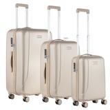 CarryOn Skyhopper Kofferset Champagne Inhoud 85, 57 en 32 Liter