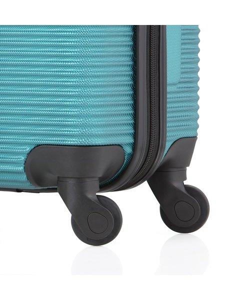 TravelZ Horizon Abs Handbagage Koffer Aqua Blauw